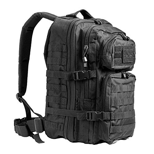 Mil-Tec Military Army Patrol Molle Assault Pack Tactical Combat Rucksack Backpack Bag 50L Black