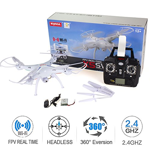 Cheerwing Syma X5SW-V3 2.4Ghz 4CH 6-Axis RC Quadcopter Camera Drone