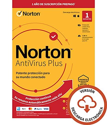 Norton Antivirus Plus 2021 - Antivirus...