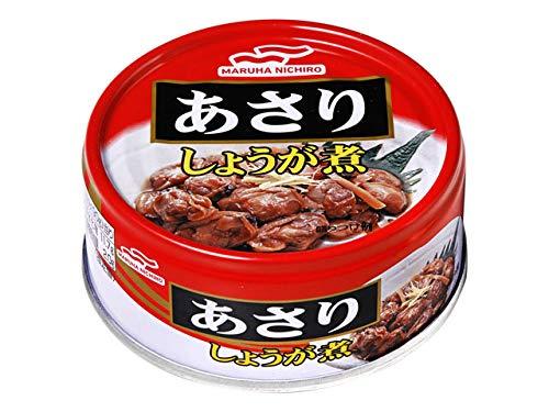 マルハニチロ あさり味付 あさりしょうが煮 缶詰 24缶セット 1缶90g 食べきりサイズ