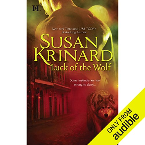 Luck of the Wolf audiobook cover art
