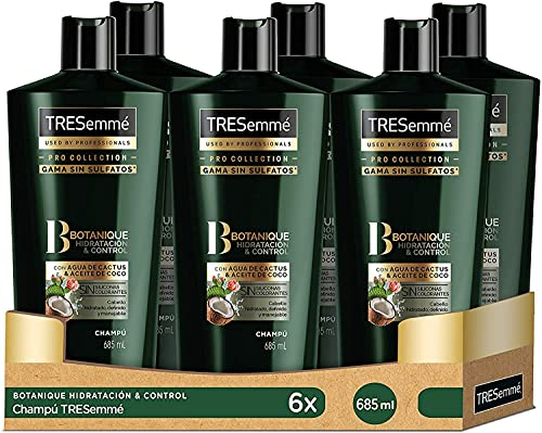 TRESemmé Champú Botanique Hidratación y Control 685 ml - Pack de 6