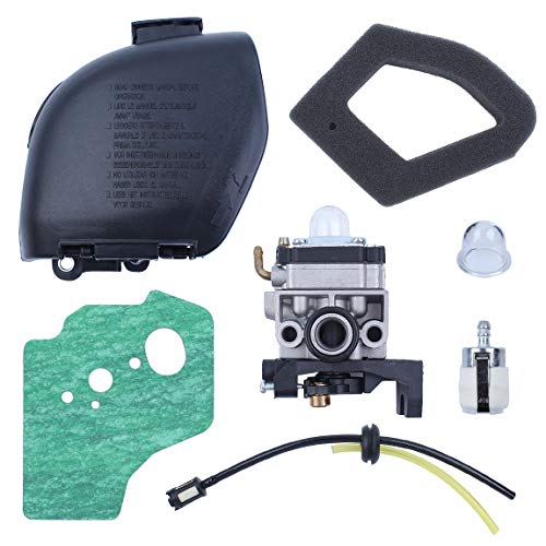 Haishine Vergaser Luftfilterdeckel Gehäuse Kraftstoffleitung Tülle für Honda GX35 GX 35 1.3 PS 4-Takt Mini Gas Motor Motor Strimmer Cutters