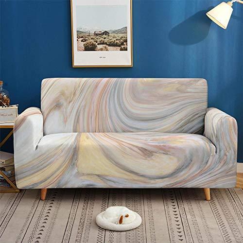 HXTSWGS Protector de Muebles con elástica,Fundas de sofá 3D, Fundas elásticas elásticas seccionales, para Sala de Estar, Funda de sofá en Forma de L-SGW001_3 plazas 190-230cm