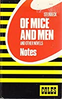Of Mice and Men (Coles Notes) 0774033363 Book Cover