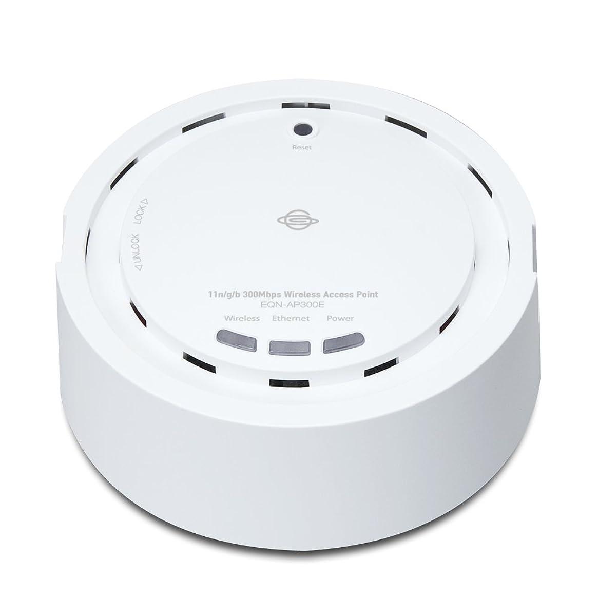 かわいらしい禁止するインスタントPLANEX 無線LAN アクセスポイント PoE受電機能搭載 300Mbps EQN-AP300E