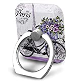 Love On The Bike Cell Phone Ring Holder Finger Kickstand 360° Rotation Metal Ring Grip,Compatible with All Smartphone