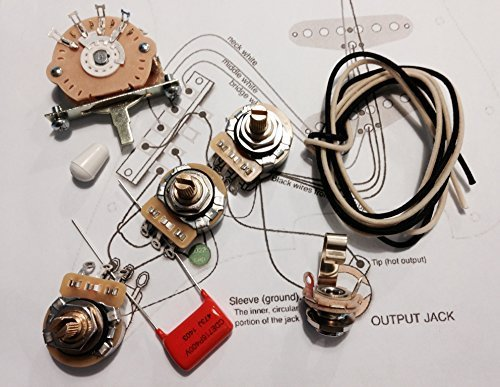 Deluxe Wiring Kit for Fender Strat - .047 Orange Drop Cap - Stratocaster