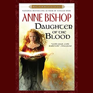 Daughter of the Blood audiobook cover art