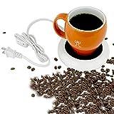 Desktop heated coffee/tea mug warmer - candle & wax warmer (1, 1 Cup)...