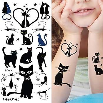 black cat tattoos