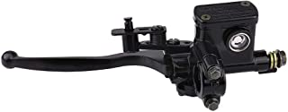 Akozon Brake Lever 22mm 0.9in Twin Brake Lever Thumb Throttle Speed Governor Fit for 49cc Mini Kid Quad ATV Bike