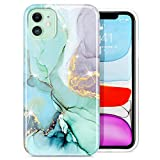 BSLVWG Compatible with iPhone 11 Case,Marble Design