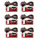 YOTINO finecorsa meccanico con indicatore LED, dispositivo per stampante 3D senza puleggia Endstop RAMPS 1.4 RAMPS 1.5, RAMPS 1.6 Prusa Mendel RepRap Mega 2560 1280 CNC Arduino (6 set)