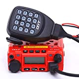 QYT KT-8900 Dual Band Mini Car Radio Mobile Transceiver VHF/UHF Mobile Radio with Programming Cable