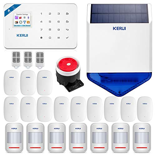 KERUI W18 Wireless Smart Security Burglar Home Alarm System-WIFI GSM Auto...