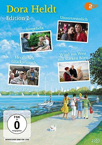 Dora Heldt - Edition 2: Ausgeliebt / Unzertrennlich / Herzlichen Glückwunsch, Sie haben gewonnen! / Wind aus West mit starken Böen (2 Discs)