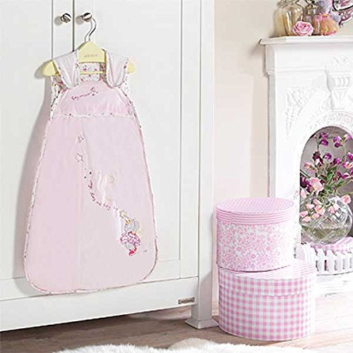 Izziwotnot Humphrey 's Corner Lottie Fairy Princess Sleep Suit (Rosa, 2,5 Tog, 0–6 m)