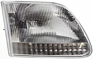 Make Auto Parts Manufacturing - F-SERIES 97-03 HEAD LAMP RH, Assy, Hal, w/o Bracket, Fr. 7-96, Exc. STX/Heritage/Harley/King Ranch - FO2503139
