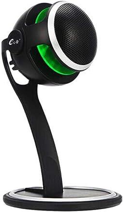 HAOYUSHANGMAO Microfono, USB Condensatore Microfono Computer Voice Game Microfono Singing Recording Equipment Microfono Computer Desktop Notebook (Color : Black) - Trova i prezzi più bassi