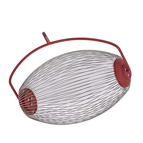 Kristy Recogedor de frutos recogedor de nueces rodante colector con telescópica de 18-41 pulgadas Rod para nueces Pecans Prunes Golf