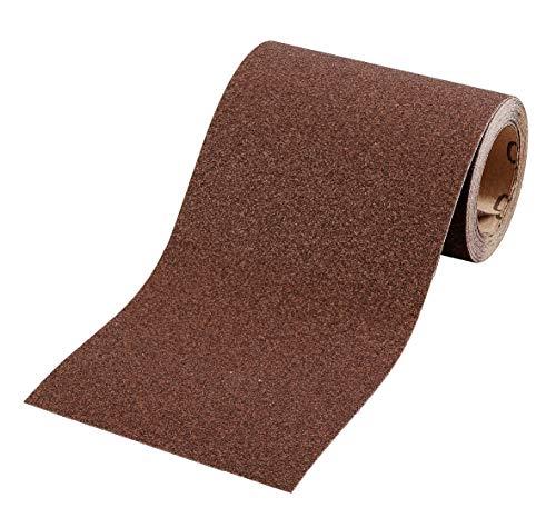 kwb Schleifpapier auf Rolle - Schleifpapier-Rolle 5 m für Metall, Holz, Lack 115 mm, Korn K-80