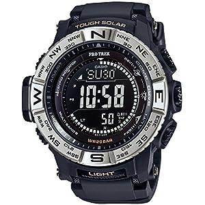 """[カシオ] 腕時計 プロトレック 電波ソーラー PRW-3510-1JF ブラック"""""""