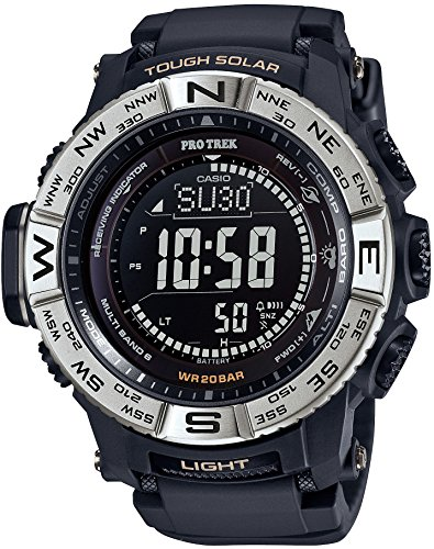 CASIO PROTREK PRW-3510-1JF Men's Black Silver