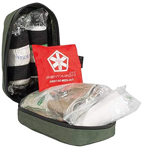 Pentagon First Aid Kit Hippokrates, Oliv