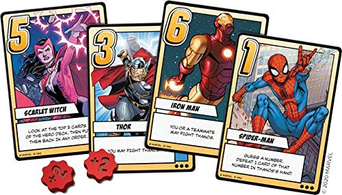Marvel Infinity Gauntlet A Love Letter Game