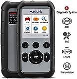 Autel MaxiLink ML629 Scanner OBD2 avec Recherche de DTC, Test de disponibilité, Outil de Diagnostics pour ABS/SRS/Moteur/Transmission (Version améliorée de ML619)