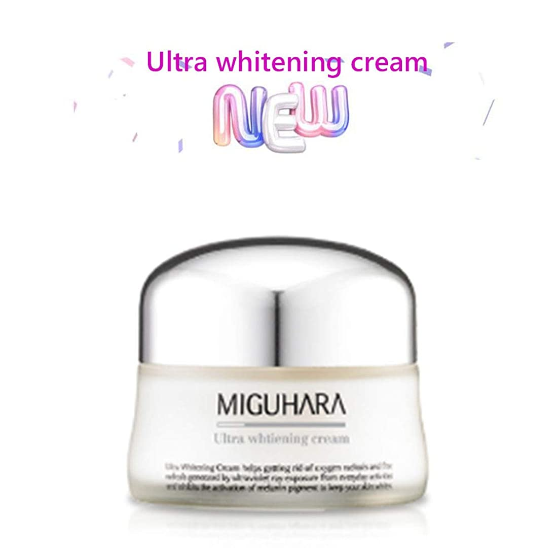 受け皿ほのめかす反乱MIGUHARA ウルトラホワイトニングクリーム 50ml /Ultra Whitening Cream 50ml