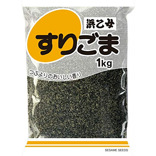 浜乙女 黒すりごま 1kg 12個 ZHT