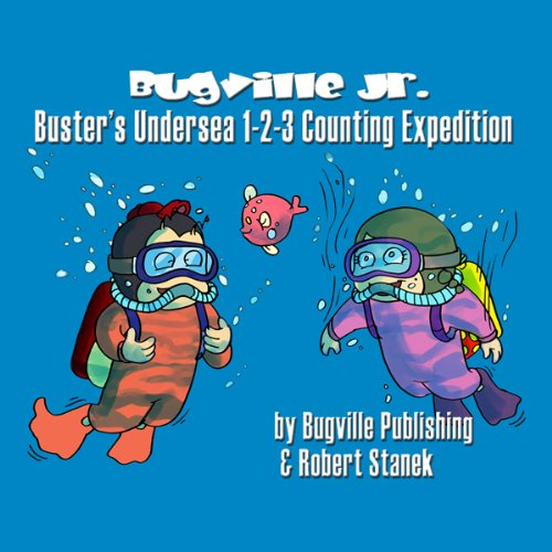 Buster's Undersea 1-2-3 Counting Expedition for Beginning Beginners cover art