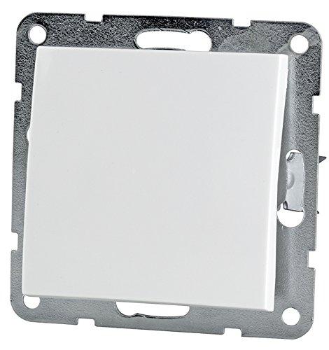 Ein- und Ausschalter weiß (Ein- und Ausschalter, Kunststoff weiß)