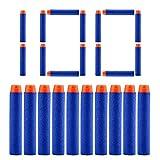 100pcs 7.2cm schiuma refill pallottola freccette per Nerf n-strike Elite Series Blasters Kid Toy Gun Blue Bullet AMMO Pack