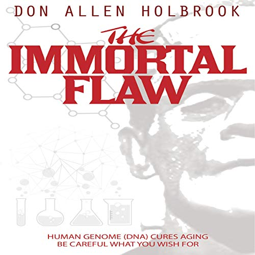 The Immortal Flaw: A Modern Twist on Frankenstein audiobook cover art