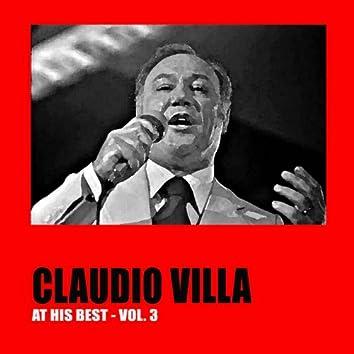 Claudio Villa at His Best, Vol. 3