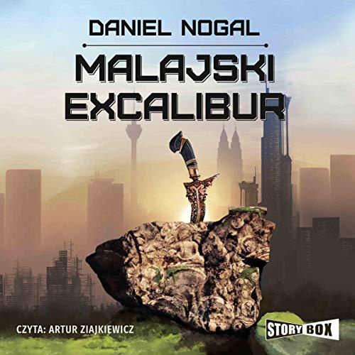 Malajski Excalibur audiobook cover art