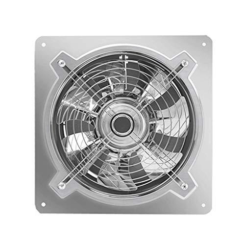 Extractor De Baño, Aficionado al extractor de baño, ventilador de extractor de cocina Acero inoxidable 10 pulgadas, cocina potente rango ventilador ventilador industrial 250mm