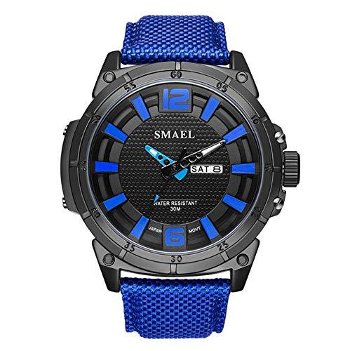 Blisfille Reloj 60Mm Relojes Digitales Hombre Reloj para Running Reloj de Oficina Reloj para Trabajo