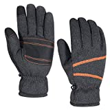 HUPENG Winter Knit Gloves for Men and Women, Touchscreen Gloves, -30 °F Warm Thermal Gloves (1, M)
