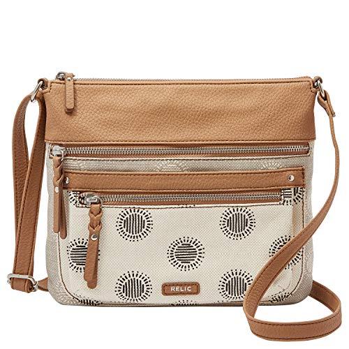 Relic by Fossil Women's Riley Crossbody Handbag, Color: DOT Model: (RLH9807982)