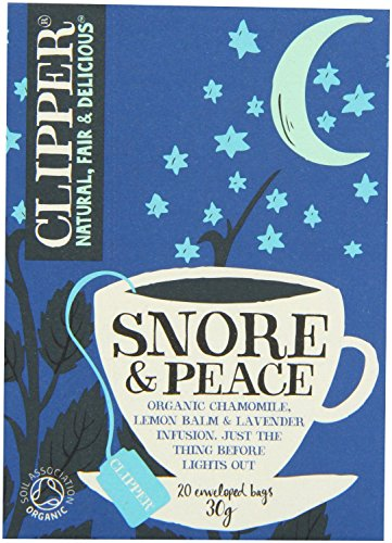 Clipper Snore & Peace Tea 20 Tea Bags 30g - CLIP-CTN817 by Clipper