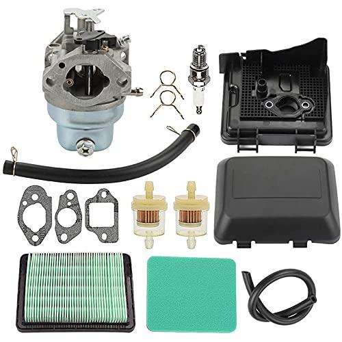 Filtro de aire para cortacésped Filtros de aire de la junta de la reconstrucción de la reparación del carburador Compatible con Honda GCV160 GCV135 Cortacésped Cortacol CARB Reemplazar 16100-Z0L-003 F
