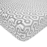 Product Image of the American Baby Company Heavenly Soft Chenille Fitted Crib Sheet for Standard Crib...