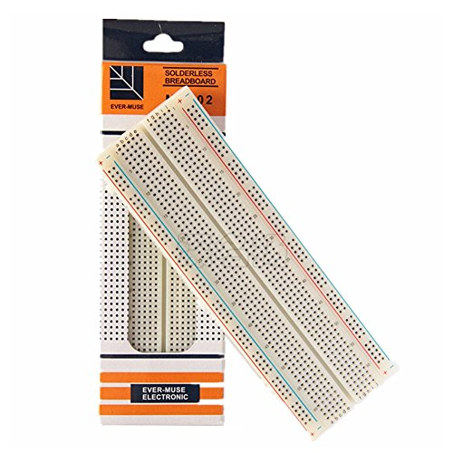 AKDSteel MB-102 830 Points Breadboard Solderless PCB Bread Board Test Develop DIY kit Durable,Required Tools