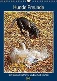 Hunde Freunde (Wandkalender 2021 DIN A3 hoch)