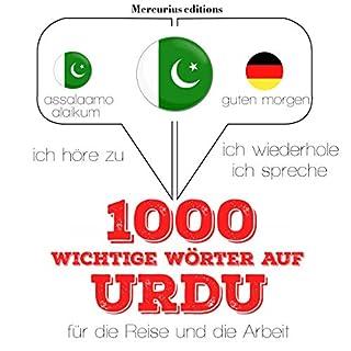 1000 wichtige Wörter auf Urdu für die Reise und die Arbeit Titelbild