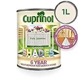 Cuprinol 5092582 Cuidado de la madera exterior, Jazmín pálido, 1 litro